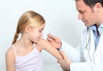 постановка прививки