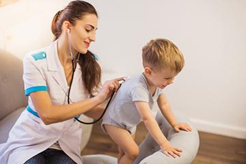 проверка состояния ребенка
